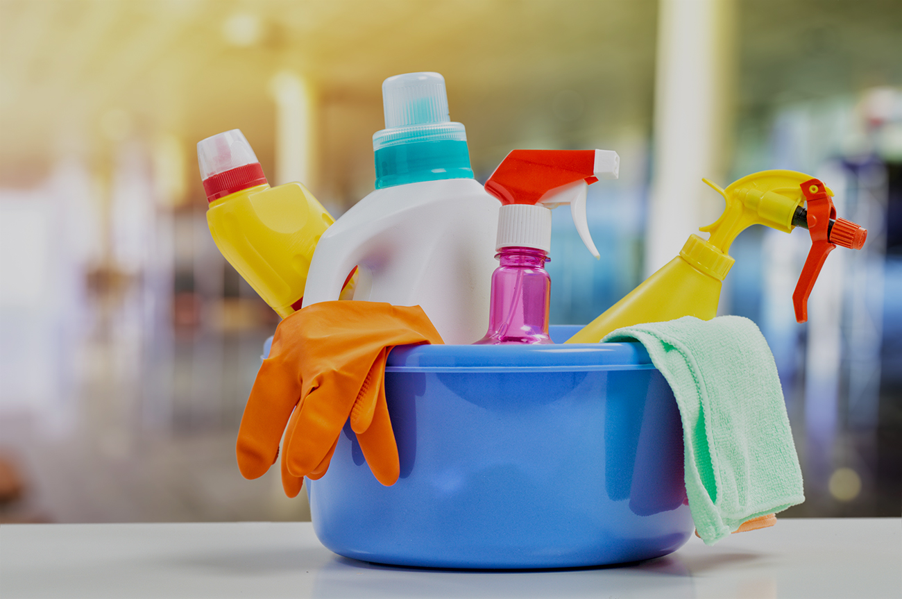 We offer a range of cleaning consumables